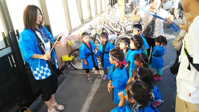 ライフ牧野店さんでニコニコ夏祭りパレードの画像