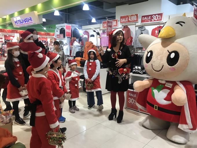 ★アルプラザ城陽★元気いっぱい!!サンタさんはとっぴーを添えて♡クリスマスパレード…