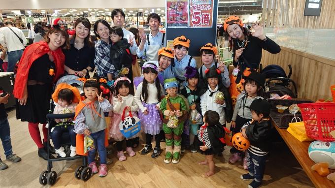 ★フレスト松井山手店★可愛いオバケ大集合~☆ハロウィンパレード2019