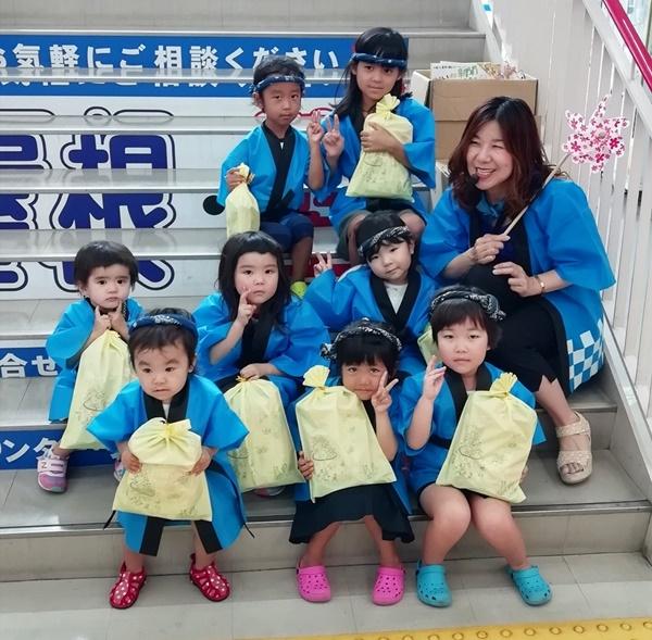 ★フレンドマート東寝屋川店★わたしたち一生懸命頑張りました♪☆夏祭りパレード2019