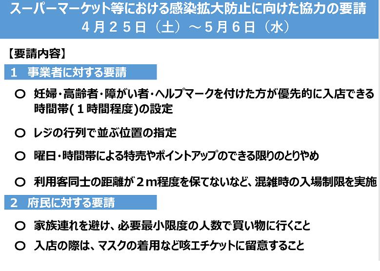 ※4/30情報更新※【ステイホーム週間始まる…の画像