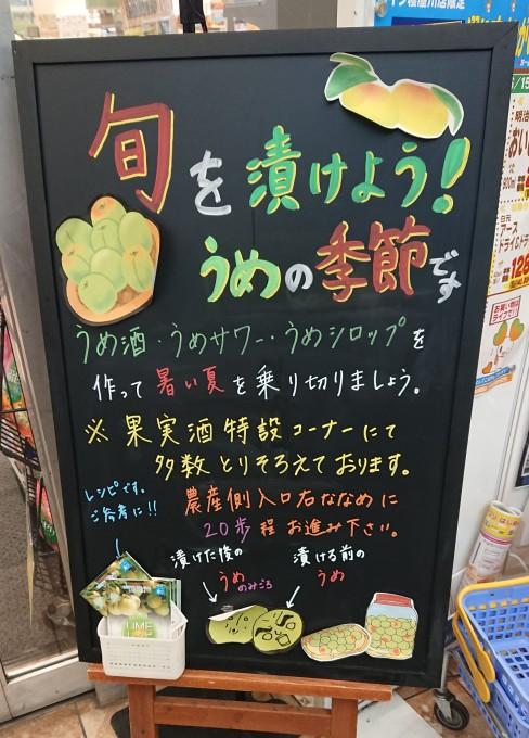 ★ライフ寝屋川店★梅の季節がやってきまし…の画像